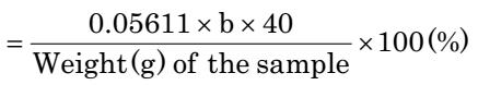 آزمایش تعیین درصد خلوص هیدروکسید پتاسم (پتاس)